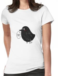 Little Crow Womens Fitted T-Shirt