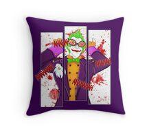 Joker W Throw Pillow
