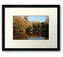 Chestnut Park, Tarpon Springs Florida Framed Print