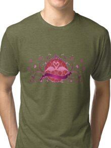 fabulous flamingos  Tri-blend T-Shirt