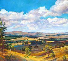 Ghin Ghin Landscape by Lynda Robinson
