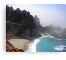 Waterfall - Big Sur Canvas Print
