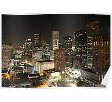 Houston Downtown Poster