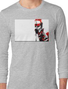 anime - pokemon - trainer red Long Sleeve T-Shirt