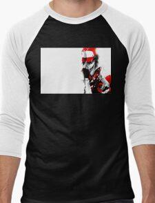 anime - pokemon - trainer red Men's Baseball ¾ T-Shirt
