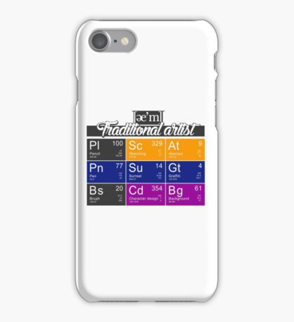 ae'm Traditional artist iPhone Case/Skin