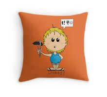 Cooked? Throw Pillow