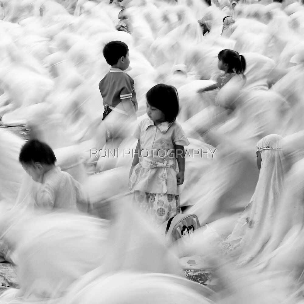 The Sea of Prayer by RONI PHOTOGRAPHY