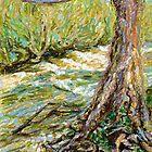 River Hafren (Severn) in September by Linandara