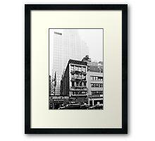 Vague memories Framed Print