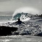 The Waves are Coming... by Paul Manning