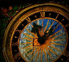 Talinn Clockface by SLRphotography