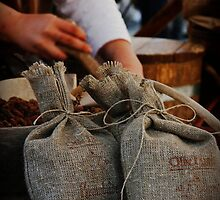 Stacks of sacks with snacks.... by SLRphotography