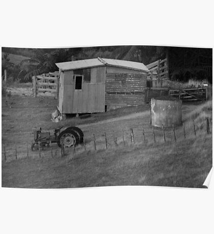 Old Farm Lifestyle Poster