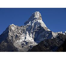 What a mountain! Photographic Print