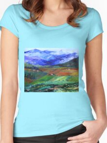 My beloved country Women's Fitted Scoop T-Shirt