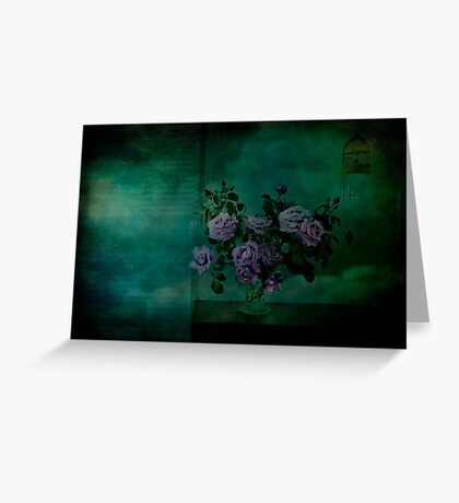 A Rose is a Rose is a Charles de Gaulle Rose Greeting Card