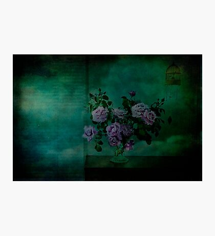A Rose is a Rose is a Charles de Gaulle Rose Photographic Print
