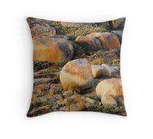 Croajingolong Rocks Throw Pillow