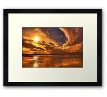 Golden touch of Nature Framed Print