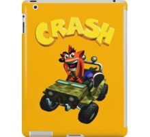 Crash Bandicoot - Jeep  iPad Case/Skin
