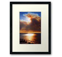 Smoke Screen Framed Print