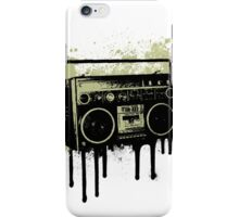 Portable Stereo Splatter iPhone Case/Skin