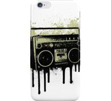 Portable Stereo Splatter iPhone Case/Skin