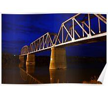 Murray Bridge Rail Poster