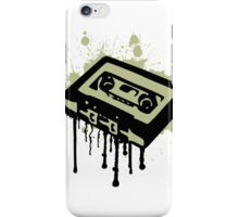 Cassette Splatter iPhone Case/Skin