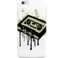 Cassette Splatter iPhone Case/Skin