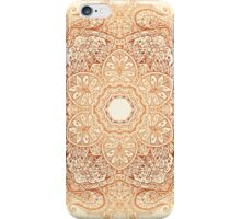 Ornate vintage vector design iPhone Case/Skin