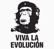 Viva la evolucion - monkey che guevara by erinttt