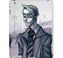 Boardwalk, Queens, 1934 iPad Case/Skin