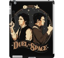 Duel In Space iPad Case/Skin