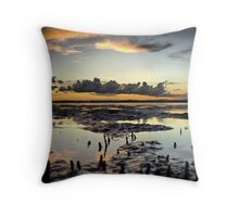 Hays Inlet - A crabs eye view Throw Pillow