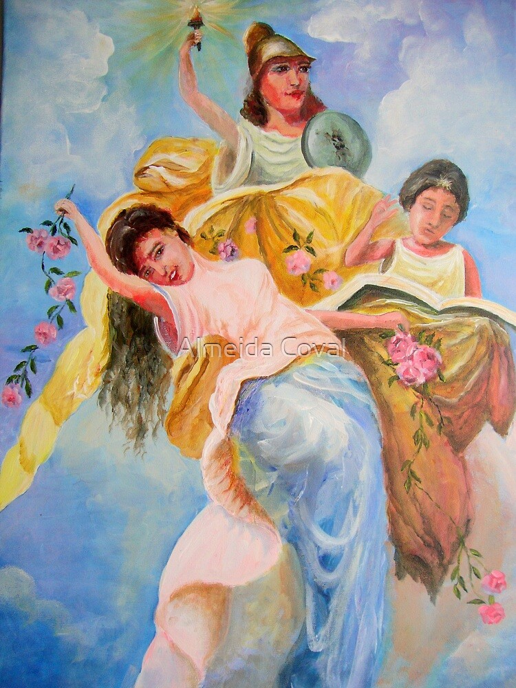 the three graces by Almeida Coval