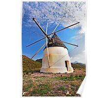 molino de Cabo de Gata Poster