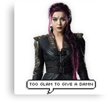Blink - Too Glam to Give a Damn Canvas Print