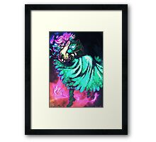 Kissed by a ghost Framed Print