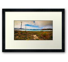 Lucky Bay Framed Print