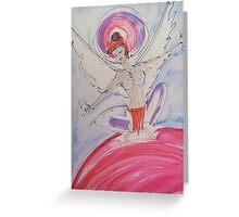 World Goddess Greeting Card