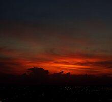 Red Dawn by Alfredo Estrella