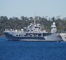 USS Blue Ridge visits Sydney by Tim Pruyn