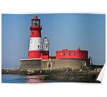 Longstone Lighthouse - Farne Islands, Northumberland Poster