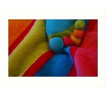 Sugary Towel Nuts Art Print