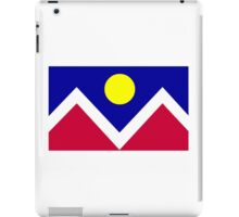 Denver Colorado iPad Case/Skin