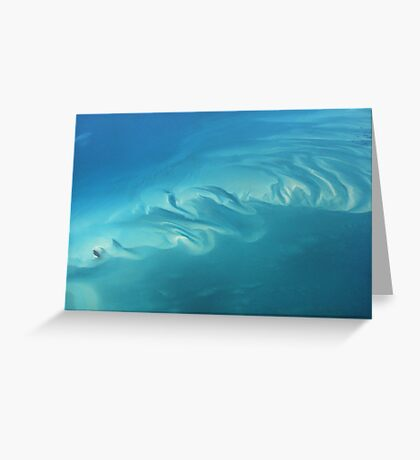 Dreaming in Turquoise Too Greeting Card