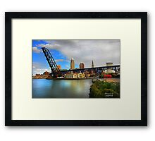 """ The Mouth "" #4 Series Framed Print"