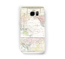 Atlas zu Alex V Humbolt's Cosmos 1851 0173 Ethnographic Dispersion of the World Samsung Galaxy Case/Skin